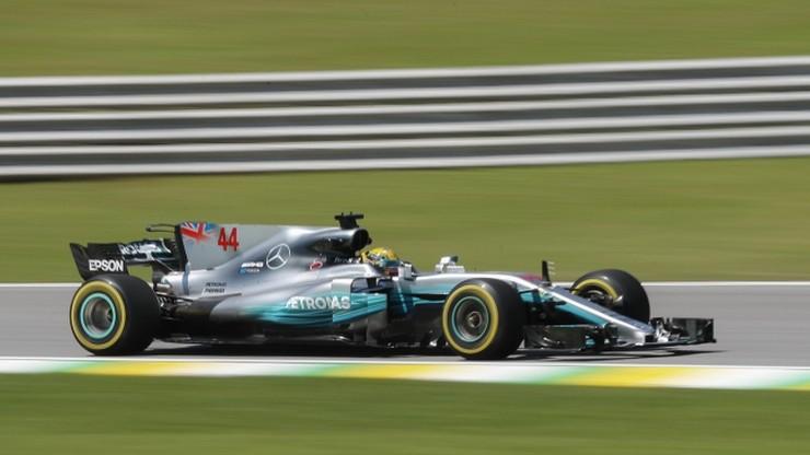 GP Brazylii: Hamilton najszybszy na obu treningach