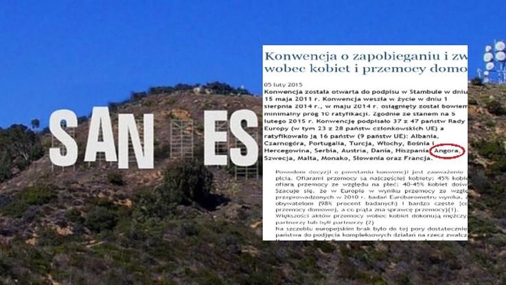 """Nie tylko San Escobar. Jest też """"nowe państwo""""… Angora"""