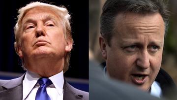 16-05-2016 08:21 Trump: jako prezydent raczej nie będę miał dobrych relacji z Cameronem