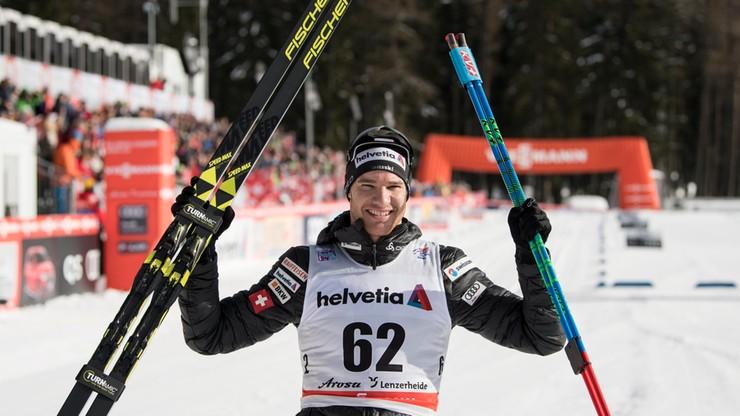 Tour de Ski: Cologna najlepszy na 15 km techniką klasyczną
