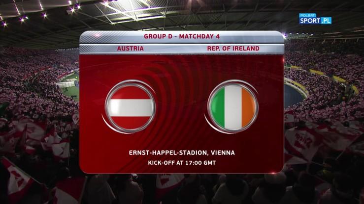 2016-11-12 Austria - Irlandia 0:1. Skrót meczu