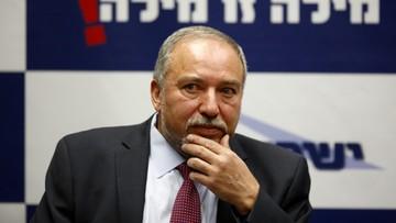 Izrael: dymisja ministra po nominacji ultranacjonalisty