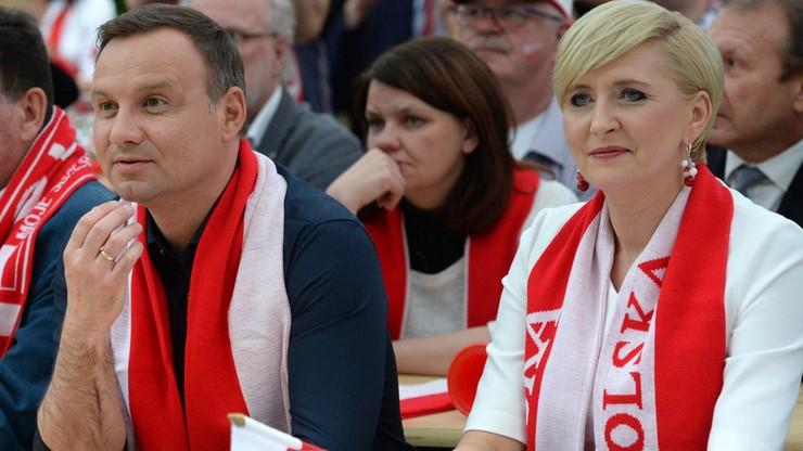 Prezydent Duda: Dziękuję za radość, jaką sprawili nam polscy piłkarze