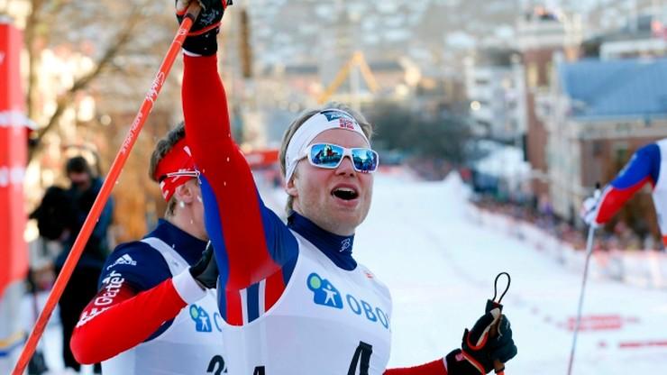 Norweskie podium w Drammen. Brandsdal najlepszy