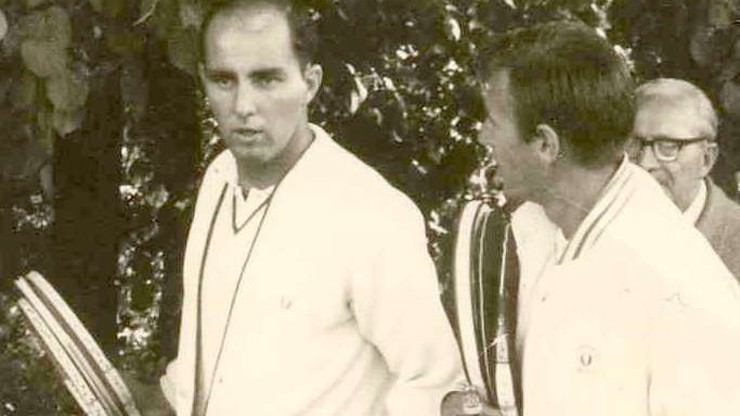 Upadek legendy. Bob Hewitt wyrzucony z tenisowej galerii sław