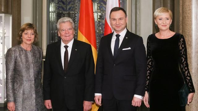 Niemcy. Gauck: między mną i prezydentem Dudą jest przyjaźń