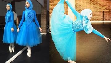 18-03-2016 12:24 Pierwsza na świecie balerina w hidżabie zbiera pieniądze, by móc rozwijać pasję