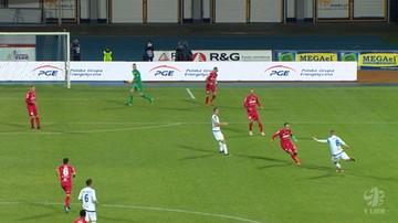 2016-10-30 1 liga: Spektakularny gol z 35 metrów! Majstersztyk czy gafa bramkarza?