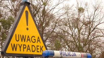"""19-05-2017 15:45 Policja szukała nastolatek """"na gigancie"""". Miały wypadek pod Toruniem"""