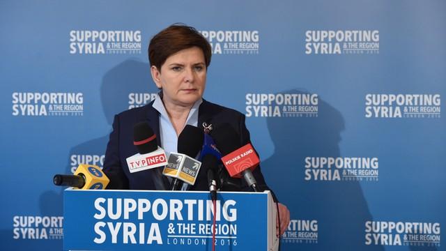 Rząd przeznaczy 4,5 mln euro na pomoc dla syryjskich uchodźców