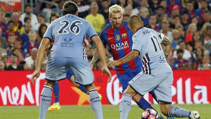 Linetty zagrał przeciwko Barcelonie. Miał udział przy golu