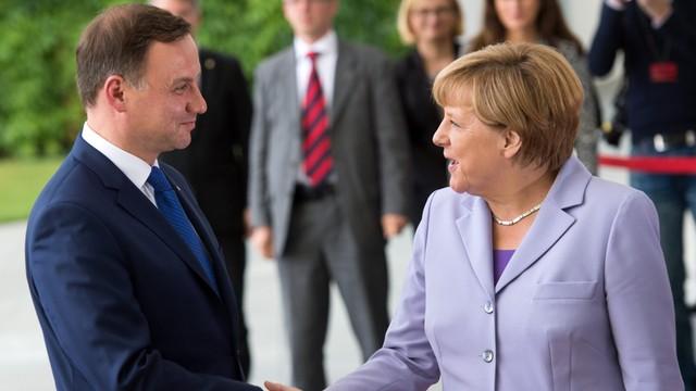 Niemcy: Duda zapowiada budowę strategicznych relacji