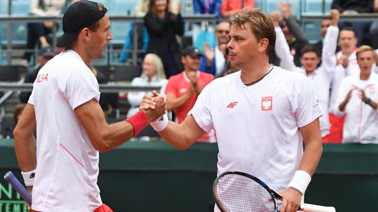 Davis Cup: Kubot i Matkowski lepsi od niemieckiego debla. Polacy zachowali szansę na wygraną