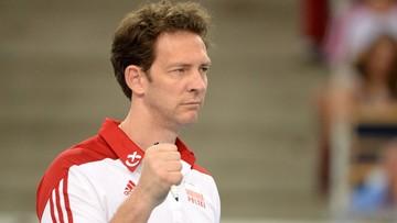 Antiga nie będzie dłużej trenerem polskich siatkarzy