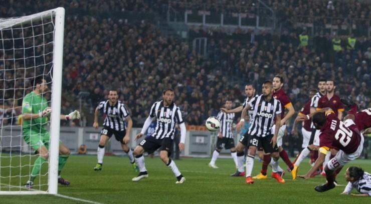 Szlagier Serie A na remis. Gol Teveza ozdobą meczu