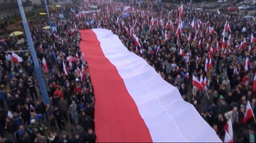 Obchody Święta Niepodległości w Warszawie