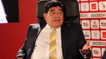 2016-01-14 Maradona przyleci helikopterem, jeśli Napoli zdobędzie mistrza