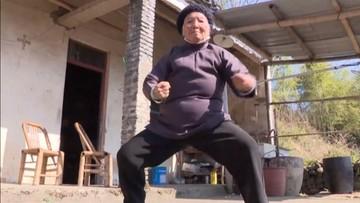 Codziennie ćwiczy kung-fu. Od… 90 lat