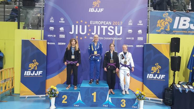 43 medale dla Polaków na Mistrzostwach Europy IBJJF