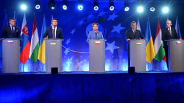 06-09-2016 21:36 Premier Szydło w Krynicy: Grupa Wyszehradzka ma receptę na UE. Wsparła też Ukrainę