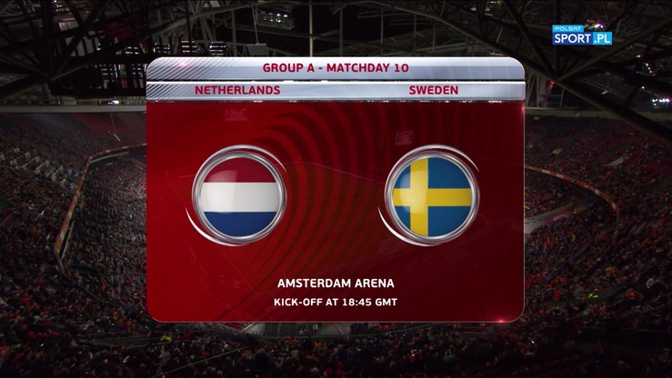 Holandia - Szwecja 2:0. Skrót meczu