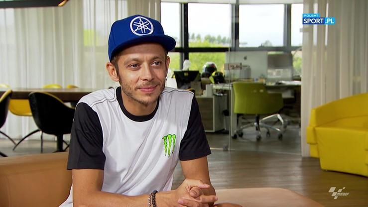 Rossi o wypadku i kontuzji