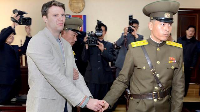 Biały Dom wzywa Kima do ułaskawienia skazanego studenta z USA