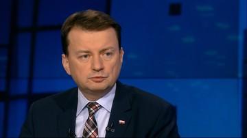 21-01-2016 21:47 Błaszczak: ze strony opozycji nie ma woli porozumienia ws. Trybunału
