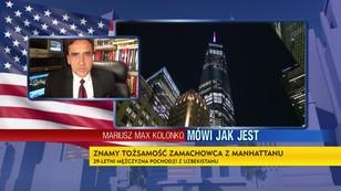 Mariusz Max Kolonko - Znamy tożsamość zamachowca z Manhattanu