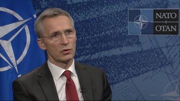 09-02-2016 20:04 Sekretarz generalny NATO: siły rotacyjne w Polsce są równie dobre, co stałe bazy