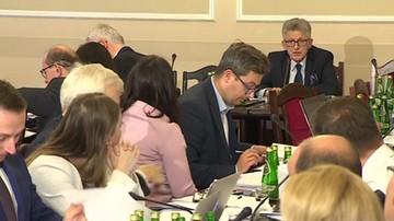 Burzliwa debata na posiedzeniu sejmowej komisji