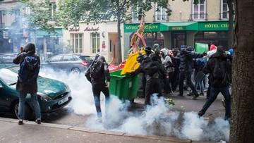 26-05-2016 18:31 Francja: starcia podczas manifestacji przeciw reformom prawa pracy