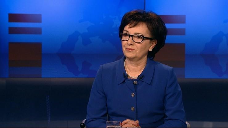 """Rząd nie da dziś odpowiedzi KE na opinię ws. praworządności w Polsce. Elżbieta Witek w programie """"Gość Wydarzeń"""""""