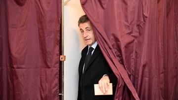 21-11-2016 06:33 Francja: Sarkozy odpadł w pierwszej turze prawyborów we własnej partii