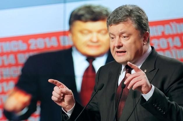 Poroszenko prosi swą partię o poparcie Jaceniuka