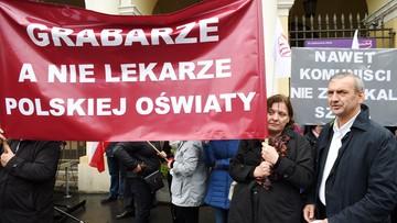 11-10-2016 09:08 Szef ZNP: nauczyciele są gotowi na strajk generalny
