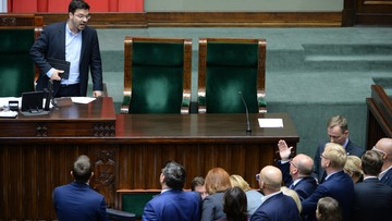 06-10-2016 15:18 Tyszka: Nowoczesna ze swoją starszą siostrą - Platformą Obywatelską, robią z Sejmu cyrk