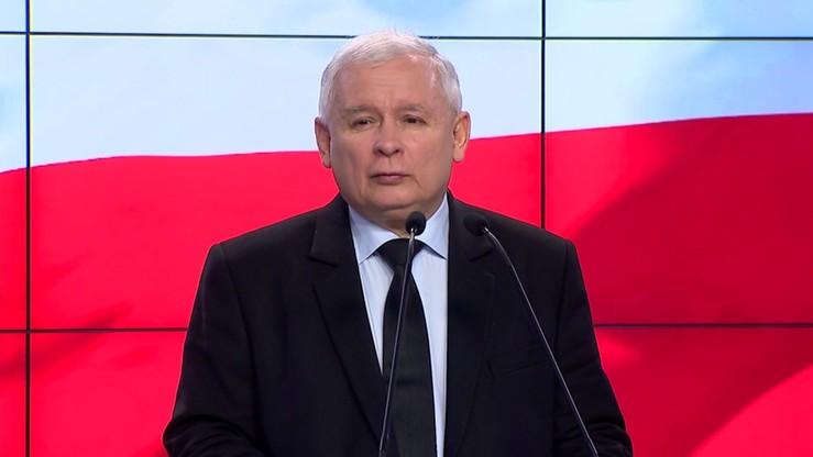 Czyim kandydatem jest Tusk? Kaczyński: swoim