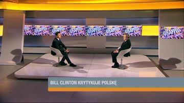 Gliński o słowach Clintona: to niesprawiedliwe i przykre