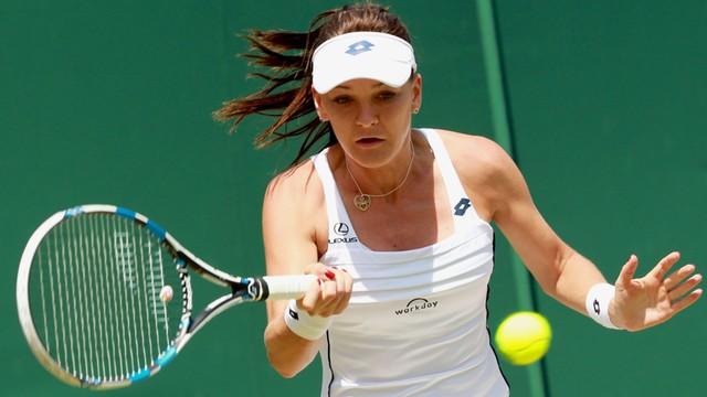 Wimbledon: Radwańska w 1/8 finału