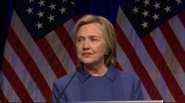 """17-11-2016 13:43 """"Chciałam się zaszyć w domu i nigdy nie wychodzić"""" - Hillary Clinton szczerze o swojej przegranej"""