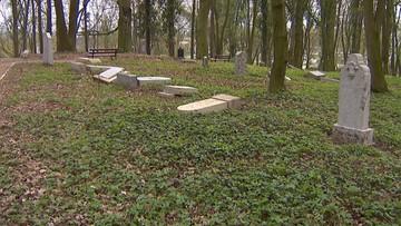 Zdewastowali 130 zabytkowych nagrobków. Wandale mają od 11 do 12 lat