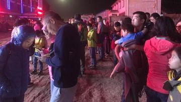 09-08-2017 05:23 Silne trzęsienie ziemi w Chinach. Turyści wśród ofiar śmiertelnych