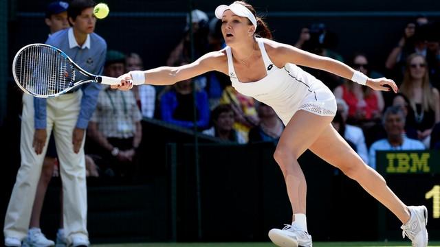 Wimbledon - Agnieszka Radwańska przegrała w półfinale