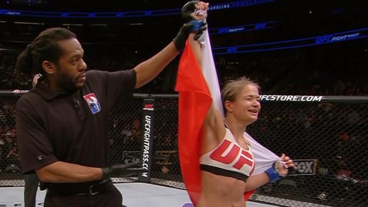 UFC: Kowalkiewicz zwycięska w debiucie! Markos pokonana!