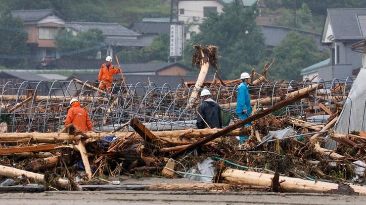 Rośnie bilans ofiar śmiertelnych powodzi w Japonii
