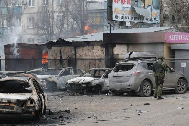 Rośnie liczba zabitych i rannych w ostrzale Mariupola