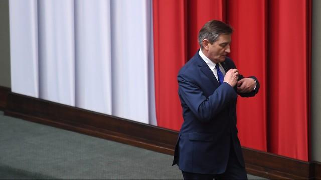Tyszka: Kuchciński wstrzymał się od głosu ws. kar dla posłów