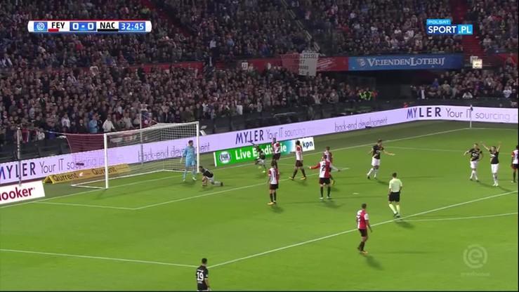 Feyenoord - NAC Breda 0:2. Skrót meczu