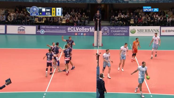Dynamo Moskwa - ZAKSA Kędzierzyn-Koźle 1:3. Skrót meczu